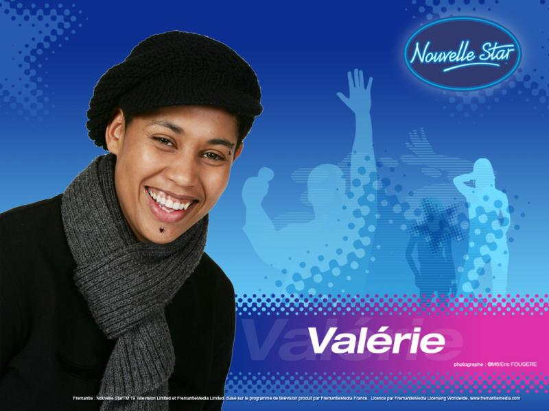 Wallpaper La Nouvelle Star Valerie