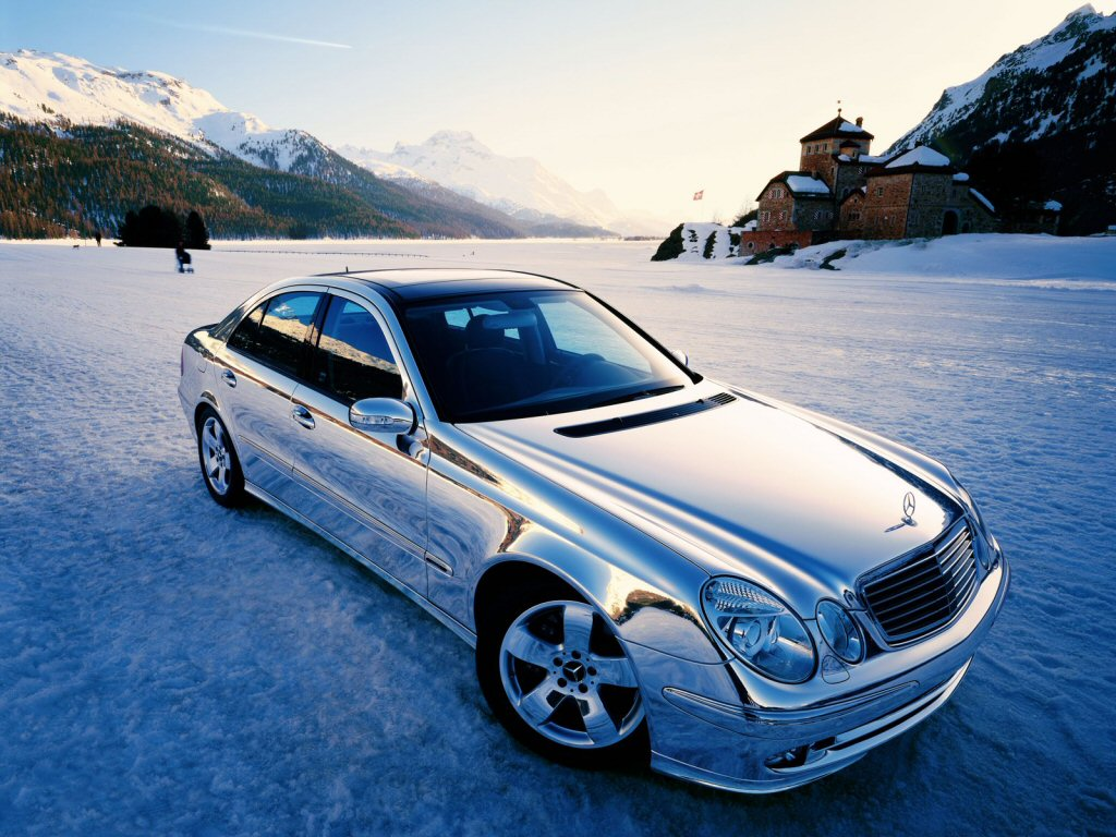 Wallpaper jolie caisse Mercedes