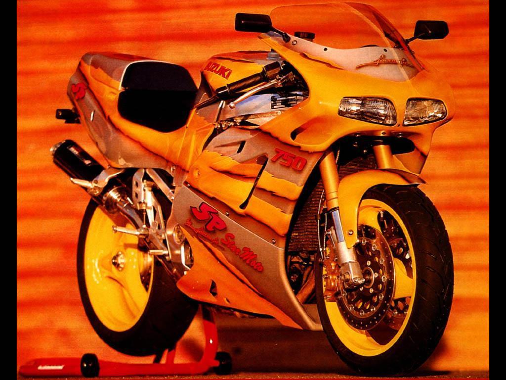 Wallpaper Moto suzuki