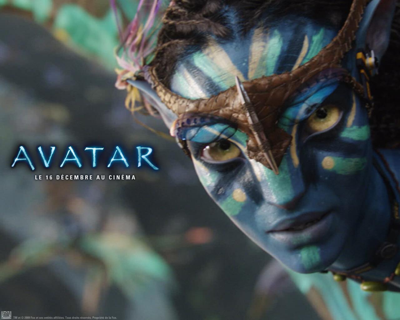 Wallpaper AVATAR Habitante avatar de Pandora