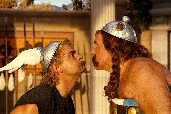 Wallpaper Asterix aux Jeux Olympiques Astérix et Obélix face a face