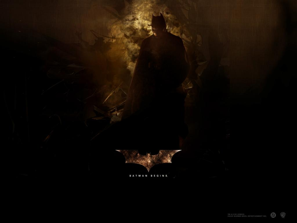 Wallpaper Batman begins Bruce Wayne