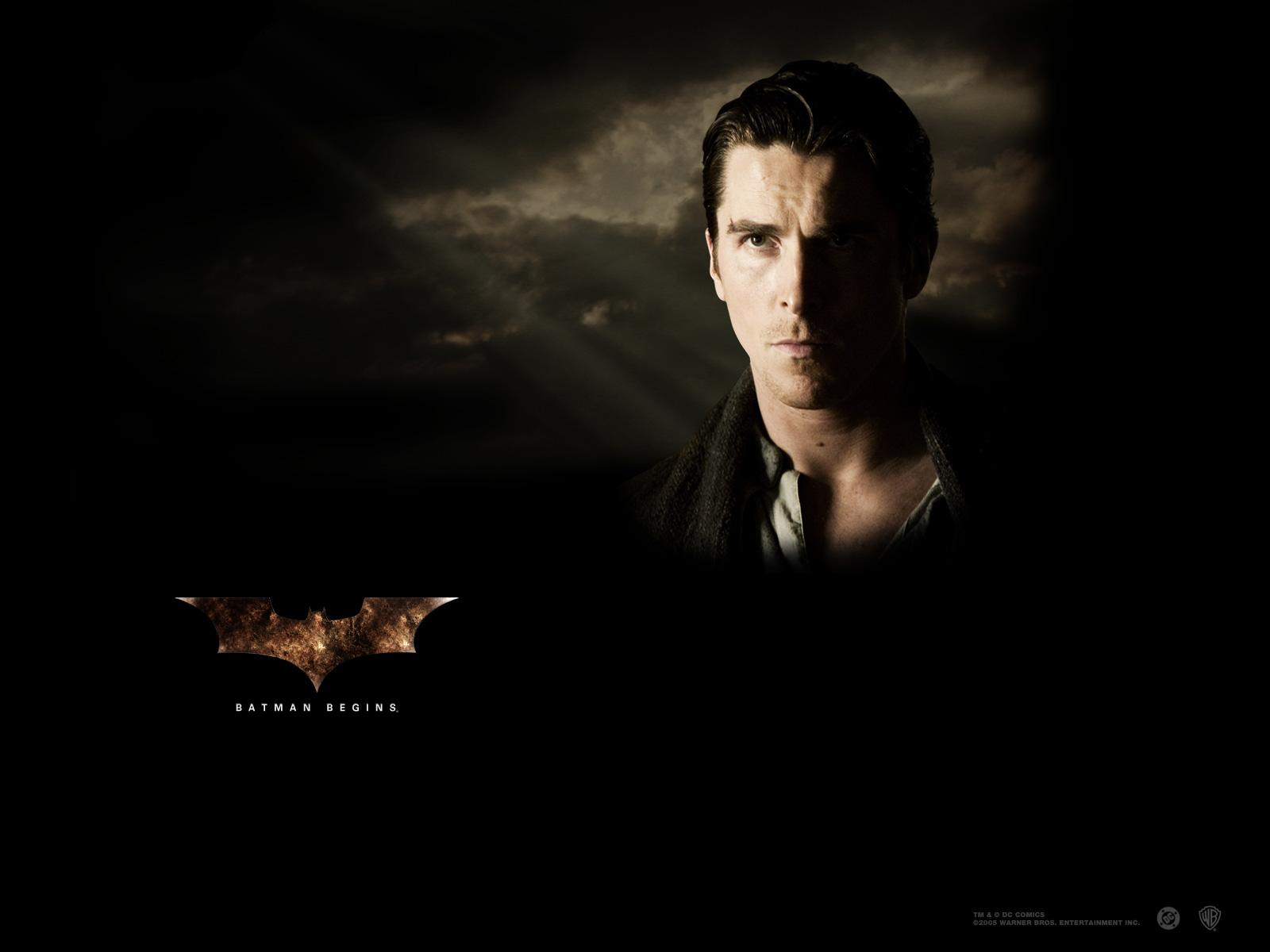 Wallpaper Bruce Wayne Batman begins