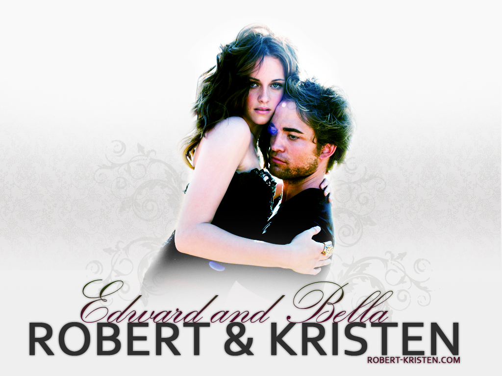 Wallpaper Cinema Video Kristen Stewart Edward and Bella