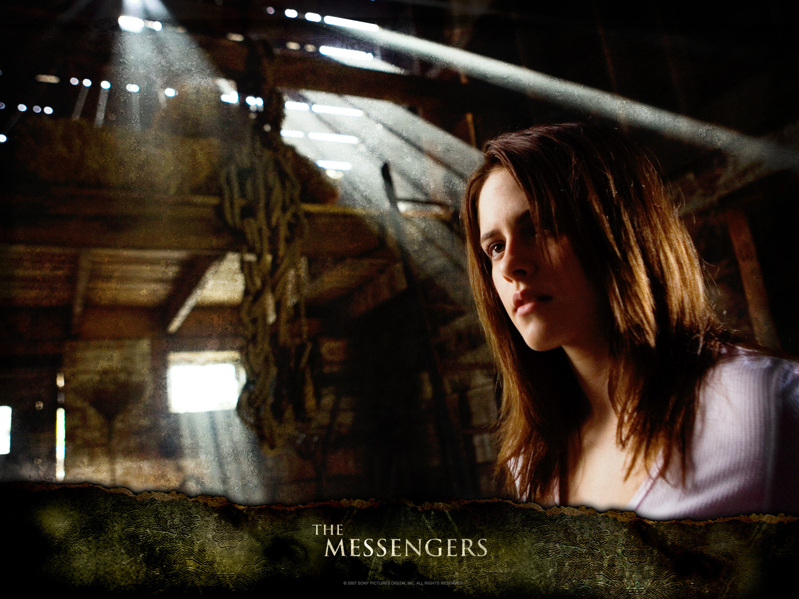 Wallpaper Cinema Video Kristen Stewart The Messengers grange