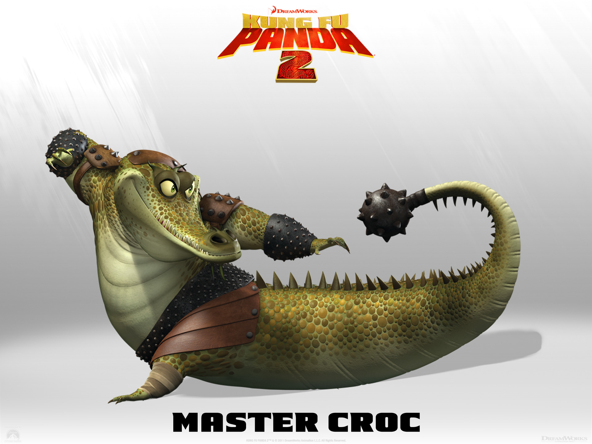 Wallpaper Kung Fu PANDA 2 Croc Cinema Video