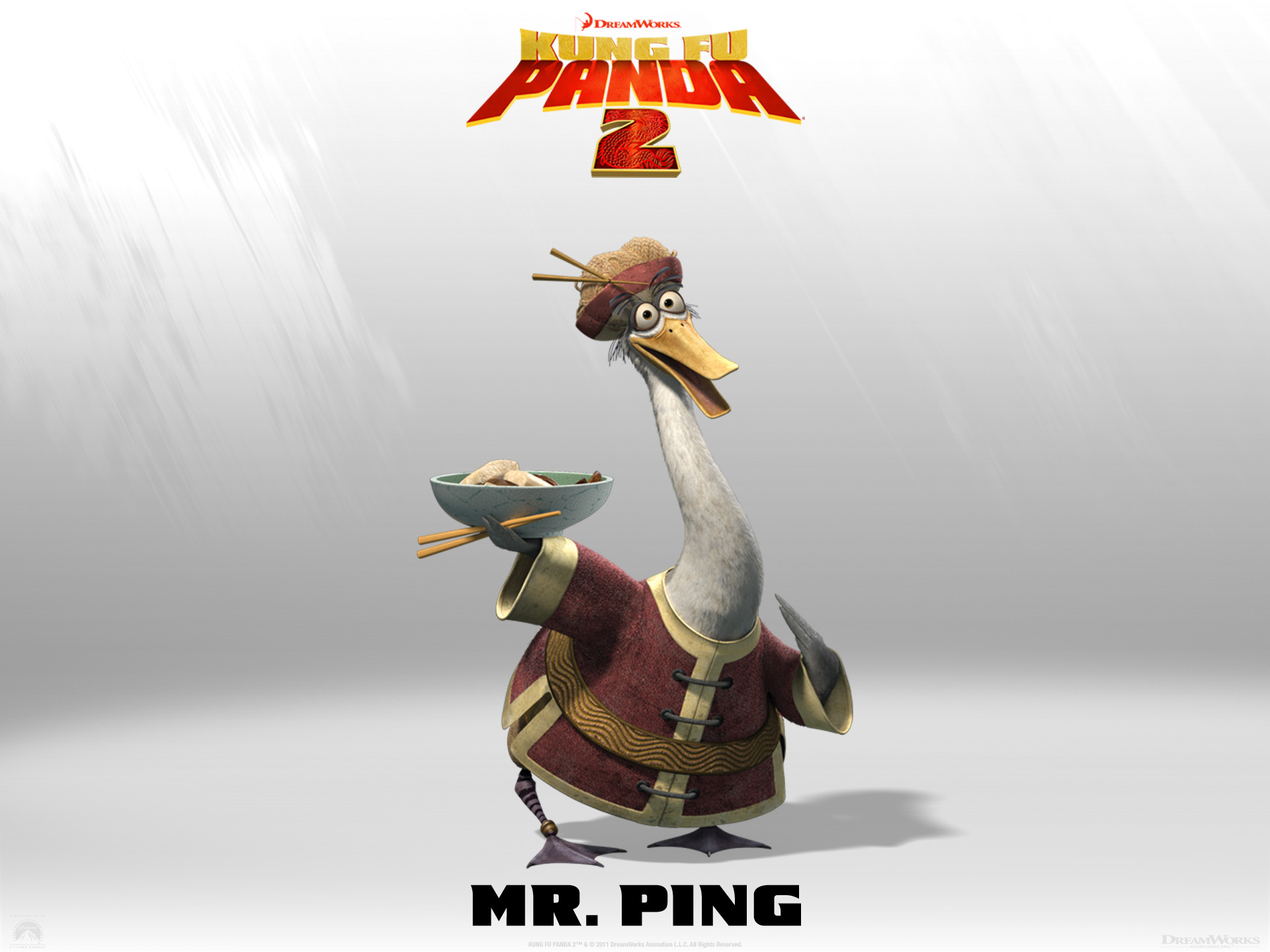 Wallpaper Kung Fu PANDA 2 Mrping Cinema Video