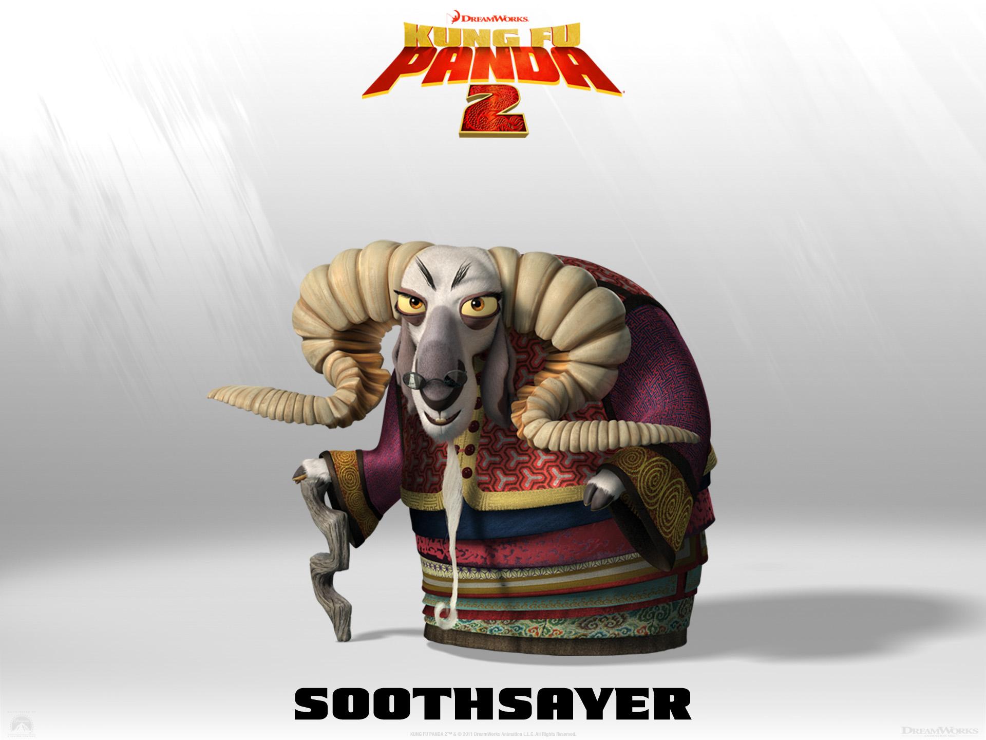 Wallpaper Kung Fu PANDA 2 Soothsayer Cinema Video