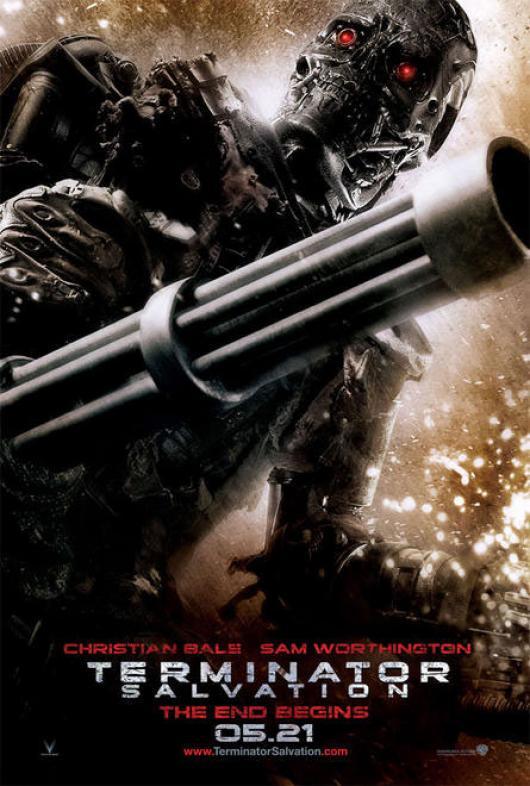 Wallpaper Cinema Video Terminator 4 Renaissance machine