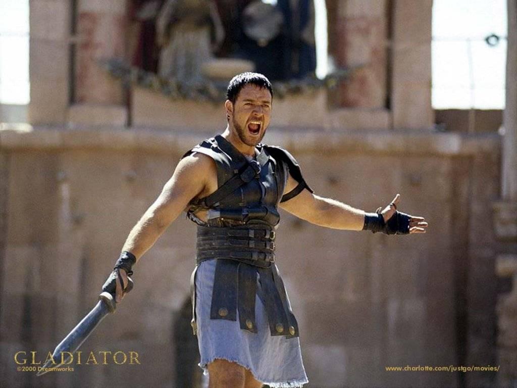 Wallpaper gladiator Cinema Video