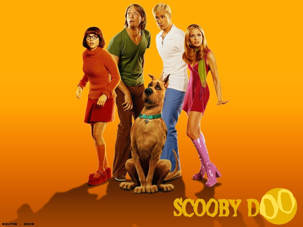 Wallpaper Cinema Video scooby doo