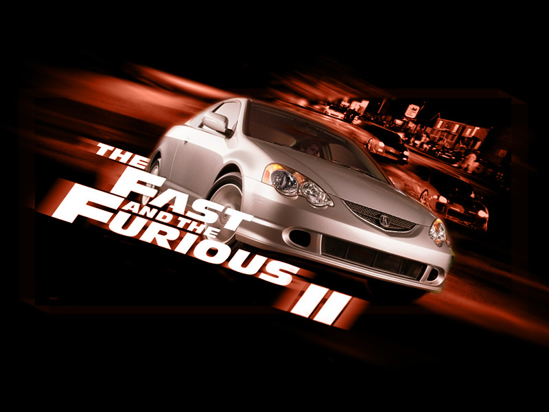 Wallpaper the fast and the furious 2 Cinema Video