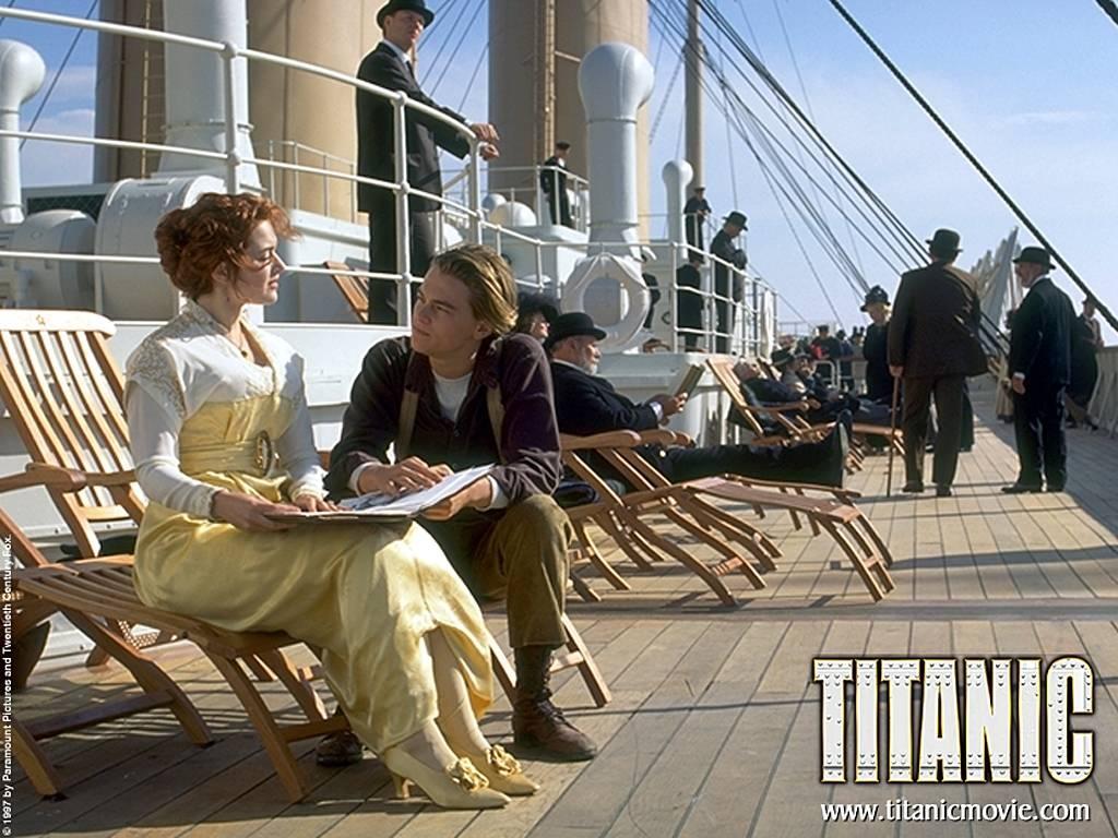 Wallpaper titanic Cinema Video