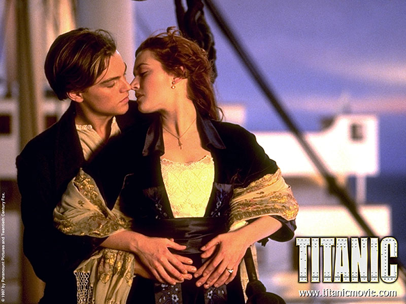 Wallpaper titanic Cinema Video