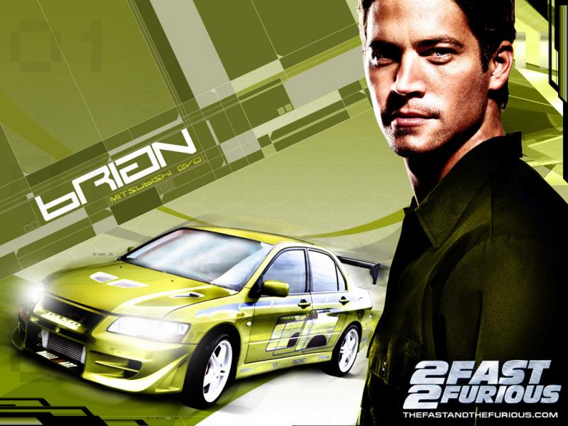 Wallpaper 2 fast 2 furious Cinema Video