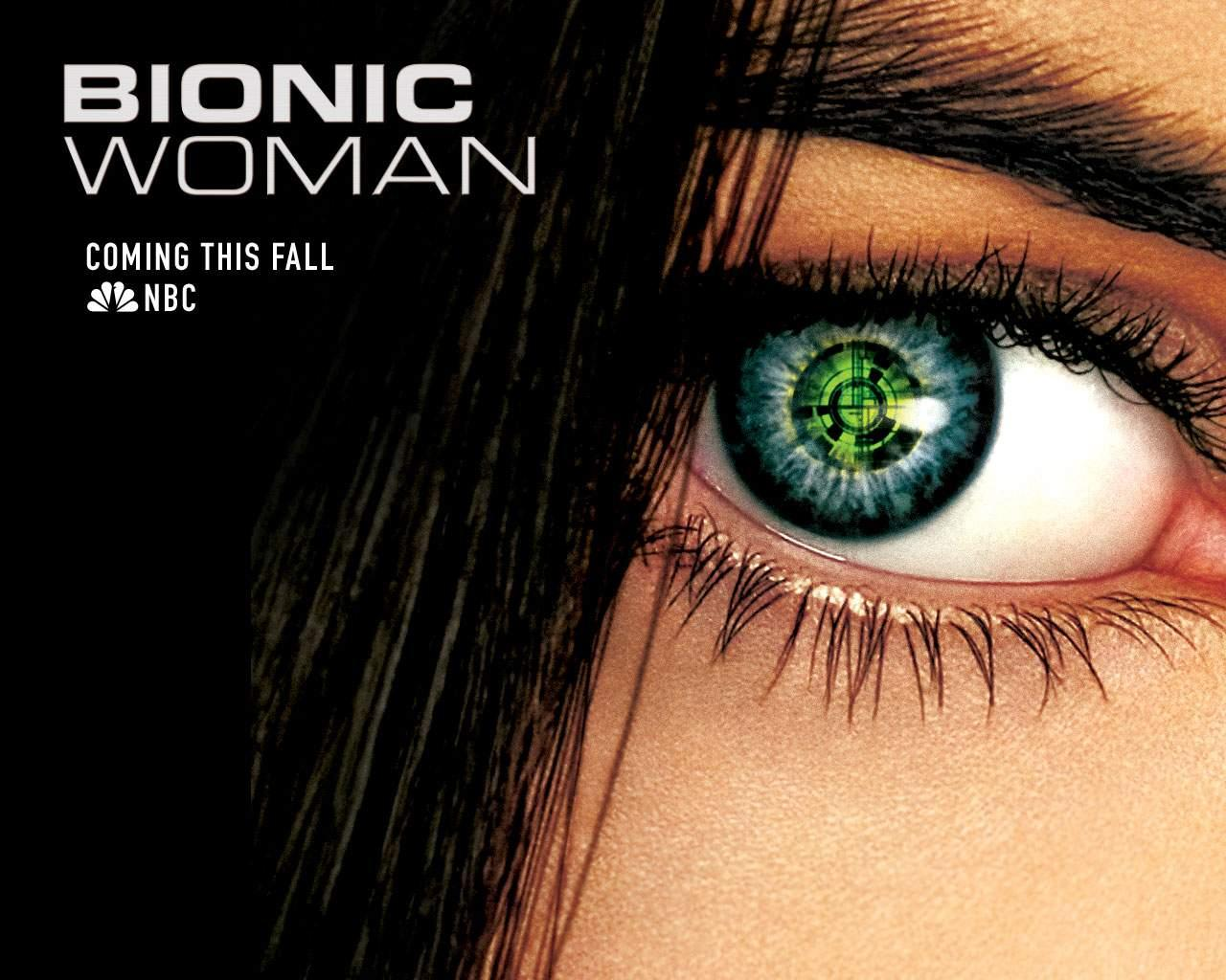 Wallpaper Bionic Woman Michelle Ryan Jaime Sommers Cinema Video