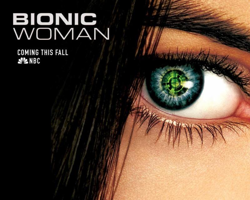 Wallpaper Cinema Video Bionic Woman Michelle Ryan Jaime Sommers