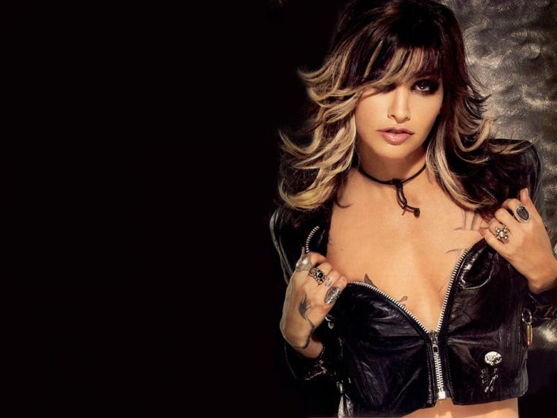 Wallpaper Cinema Video Gina Gershon sexy cuir rebelle