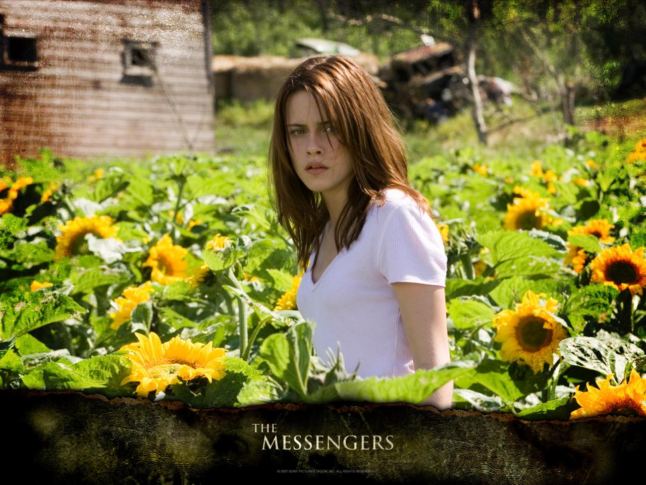 Wallpaper Kristen Stewart The Messengers tournesol Cinema Video