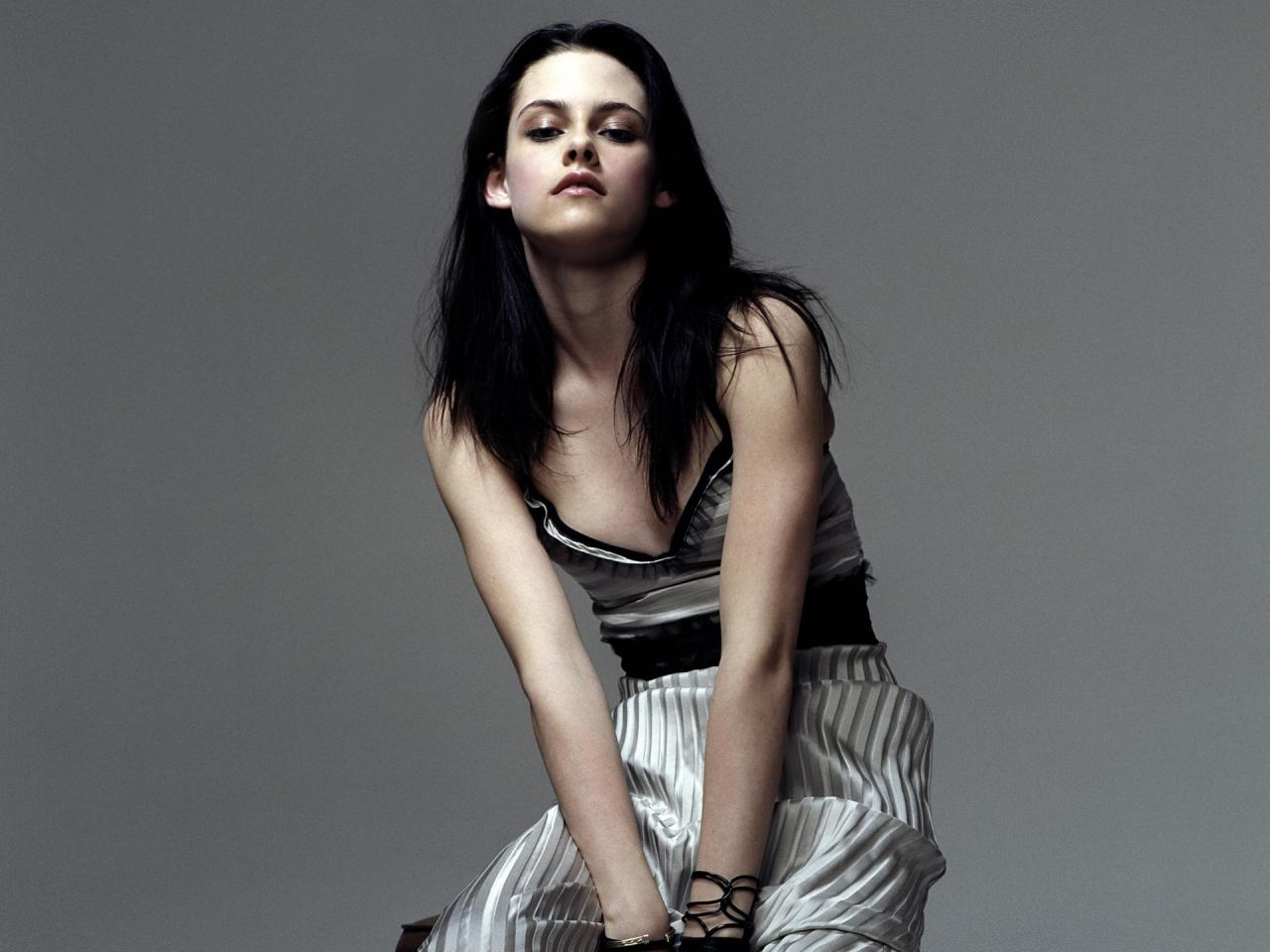 Wallpaper Kristen Stewart brune sombre Cinema Video