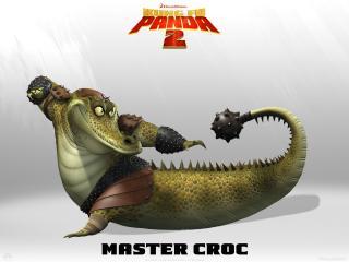 Wallpaper Kung Fu PANDA 2 Croc Cinema Video
