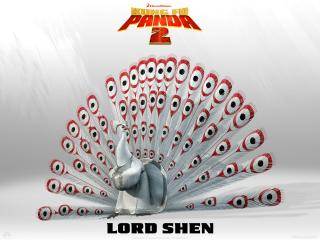 Wallpaper Kung Fu PANDA 2 Lordshen Cinema Video