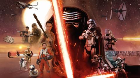 Wallpaper Star Wars 8  Affiche Kylo Ren Cinema Video