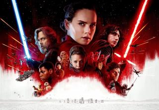 Wallpaper Star Wars 8  Affiche Rey Cinema Video