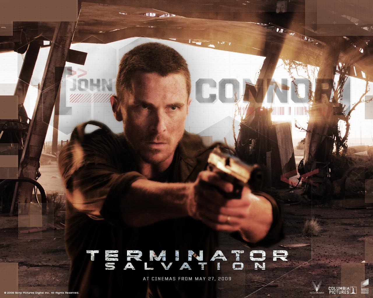 Wallpaper Terminator Renaissance Cinema Video