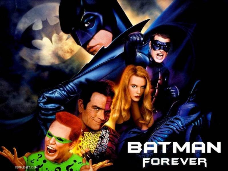 Wallpaper batman forever Cinema Video