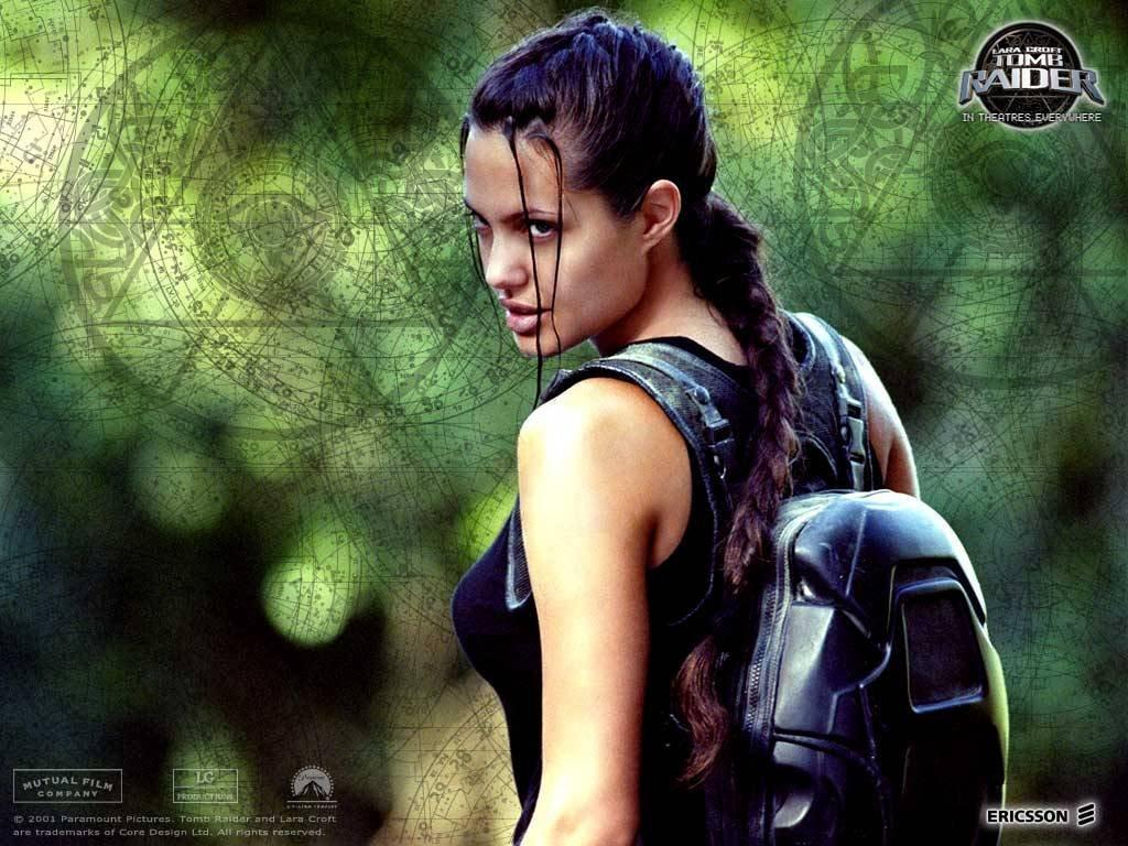 Wallpaper Cinema Video tomb raider