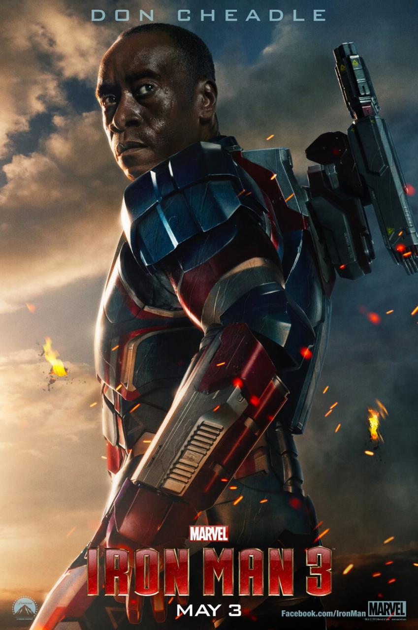 Wallpaper Affiche Iron Man 3 Iron Man