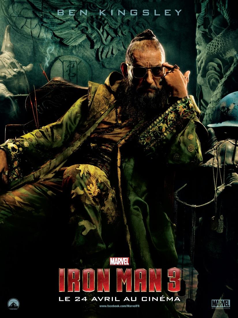 Wallpaper Affiche Iron Man 3 le mandarin Iron Man