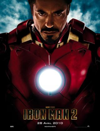 Wallpaper Affiche Iron Man 2 Tony Stark Iron Man