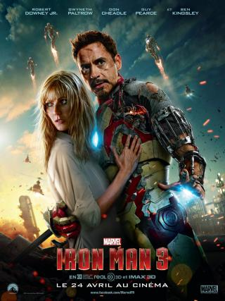 Wallpaper Affiche Iron Man 3 Iron Man