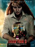 Wallpaper Iron Man Affiche Iron Man 3 Pepper Potts avec Casque Iron Man