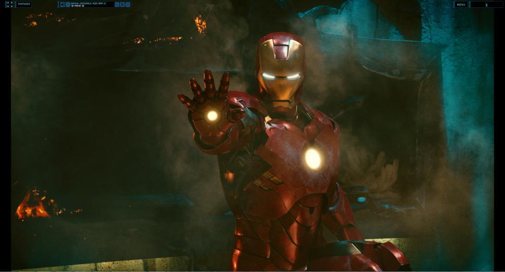 Wallpaper Iron Man 2 Iron Man