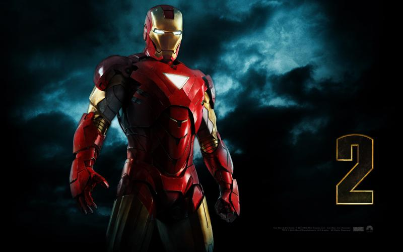 Wallpaper Iron Man 2 Iron Man
