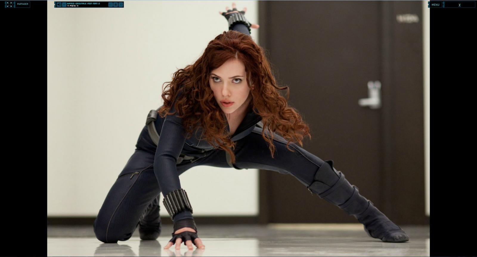 Wallpaper Iron Man 2 Natasha Romanoff Iron Man