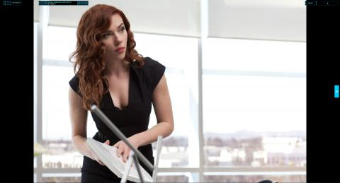 Wallpaper Iron Man 2 Natasha Romanoff Scarlett Johansson Iron Man
