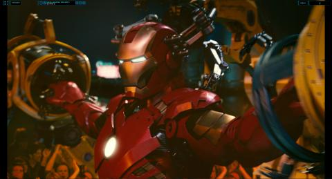 Wallpaper Iron Man 2 systeme pour enlever l armure Iron Man