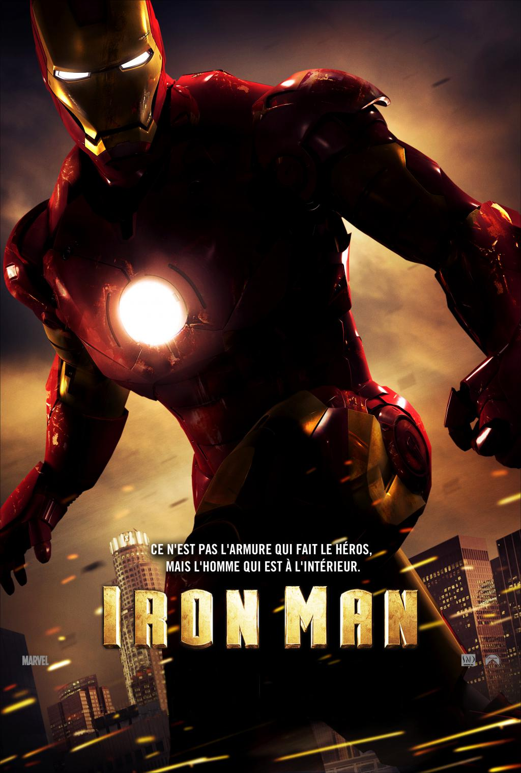 Wallpaper Iron Man Affiche du film Iron Man