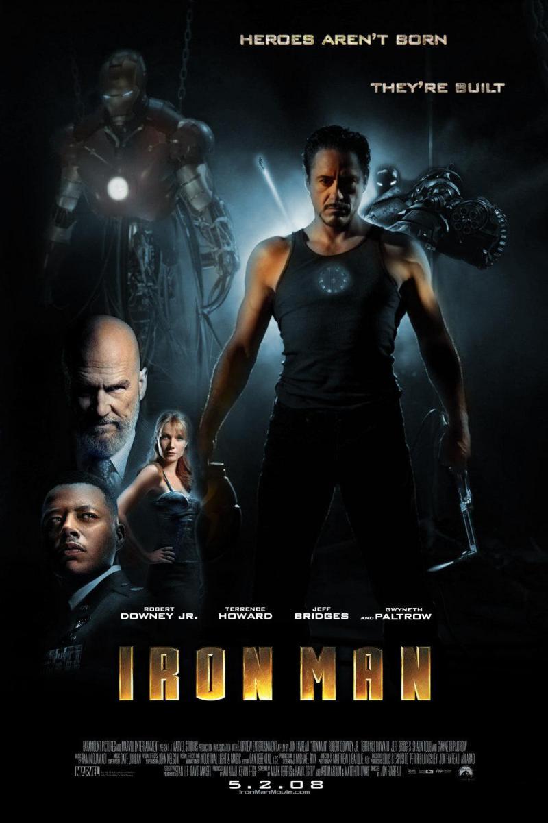 Wallpaper Iron Man Affiche du film Iron Man