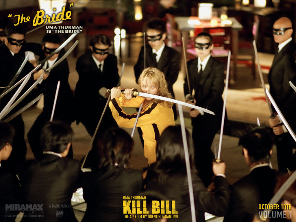 Wallpaper Thebride Kill Bill