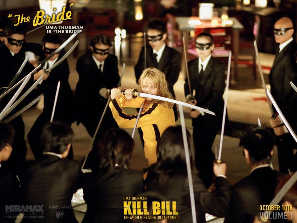 Wallpaper Thebride Kill Bill