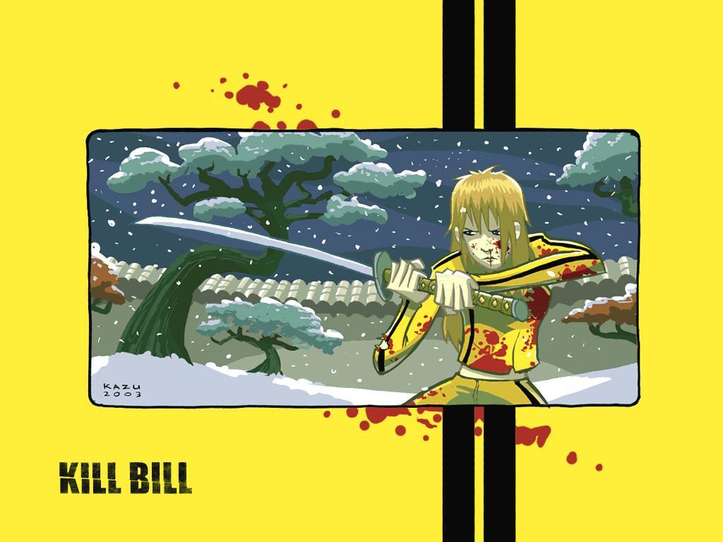 Wallpaper uma thurman Kill Bill