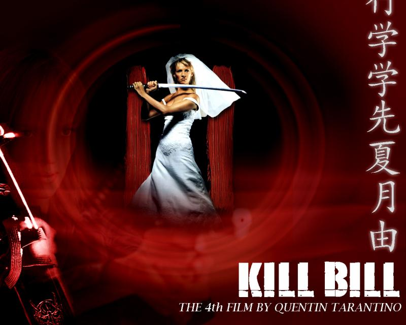Wallpaper uma thurman Kill Bill