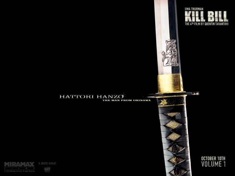 Wallpaper weapon Kill Bill