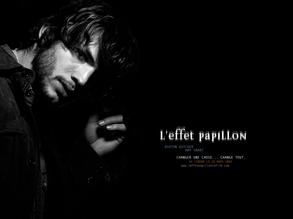 Wallpaper L'effet papillon Ashton Kutcher