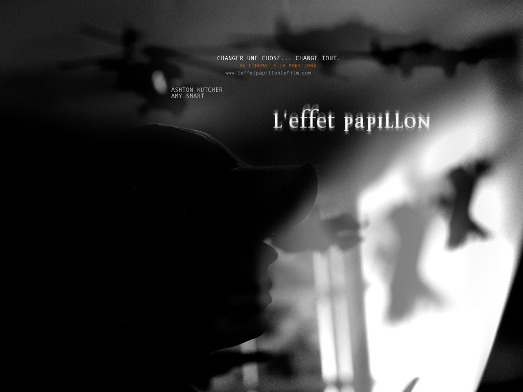 Wallpaper L'effet papillon Helicoptere